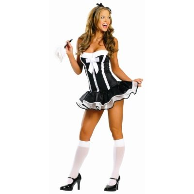 Super Sexy Maid Costume Front