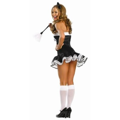 Super Sexy Maid Costume Rear